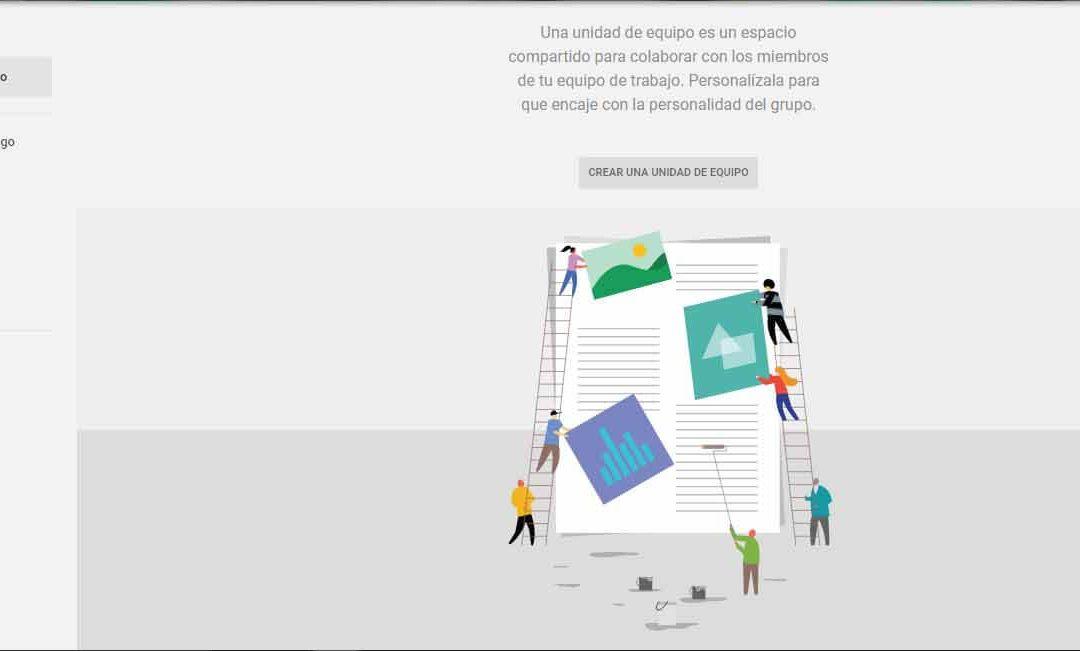 Repositorio de recursos compartido con UNIDADES DE EQUIPO de Google Drive