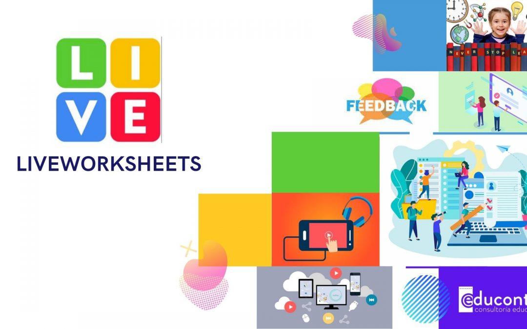 Liveworksheets, una nueva vuelta de tuerca digital a la tradicionales fichas