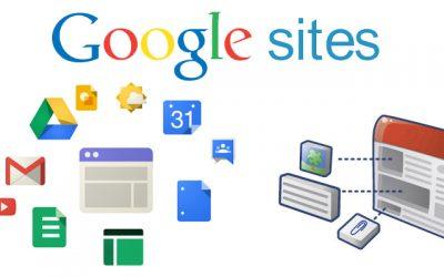 Novedades Google Sites (I)